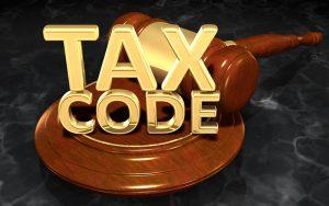 2018 Tax Code